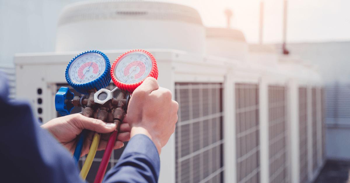 Regele van de druk in airconditioningsystemen